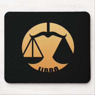 Libra Zodiac Sign Mouse Mat