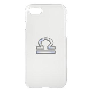 Libra Zodiac Sign on blue camo iPhone 7 Case