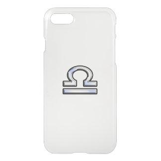 Libra Zodiac Sign on Carbon Fiber iPhone 7 Case