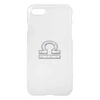 Libra Zodiac Sign on Fuchsia Camo iPhone 7 Case