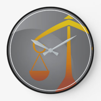 Libra Zodiac Sign Wall Clocks