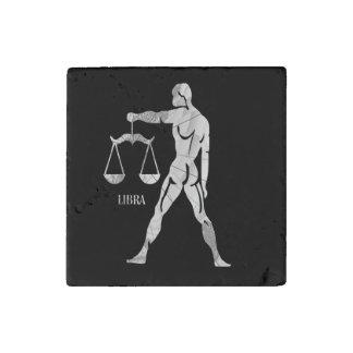 Libra Zodiac Stone Magnet