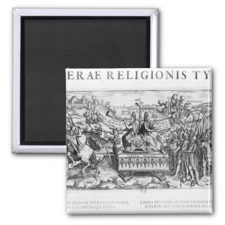 Librae Religionis Typus', allegory Magnet