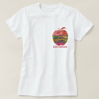 Librarian Apple T-Shirt