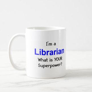 Librarian Basic White Mug