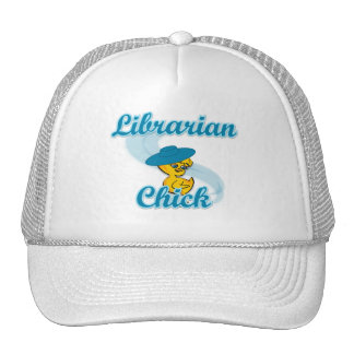Librarian Chick #3 Mesh Hat