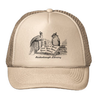 Librarian Gift! Volunteer Gift! Library Lover Cap