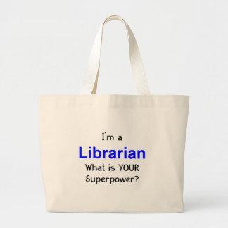 Librarian Large Tote Bag