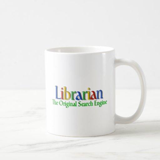 Librarian Original Search Engine Mugs