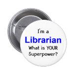 Librarian Pinback Button