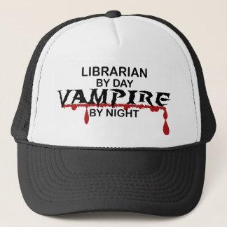 Librarian Vampire by Night Trucker Hat