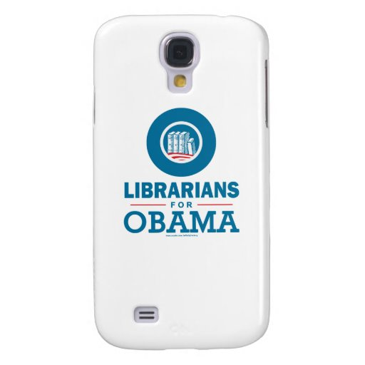Librarians for Obama Samsung Galaxy S4 Covers