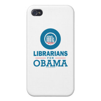 Librarians for Obama iPhone 4 Cases