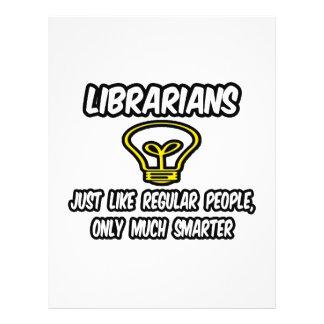 Librarians...Regular People, Only Smarter 21.5 Cm X 28 Cm Flyer