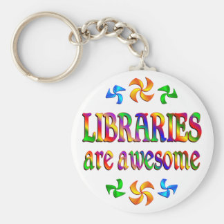 Libraries are Awesome Key Ring