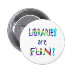 Libraries are Fun Button