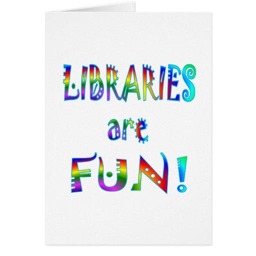 Libraries are Fun Card