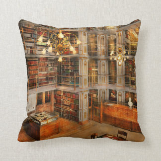 Library - A literary classic 1905 Cushion