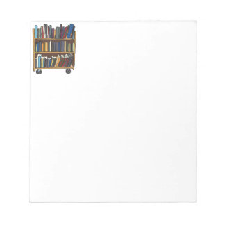 Library Books Notepads