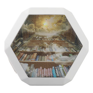 library white boombot rex bluetooth speaker