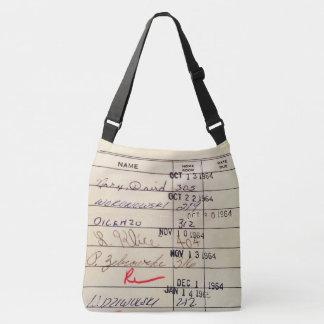 Library Card 23322 Crossbody Bag