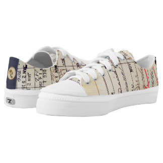 Library Card 23322 Low Tops