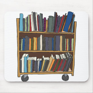 Library Cart Mouse Mat