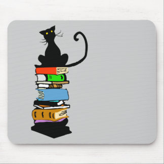 Library Cat Mouse Mat