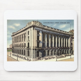 Library, Cleveland, Ohio c1934 Mouse Pad