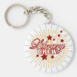 Library Crew Keychains