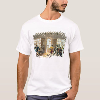 Library, from 'Poetical Sketches of T-Shirt