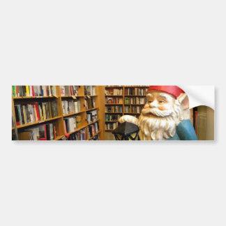 Library Gnome I Bumper Sticker