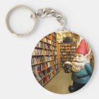 Library Gnome I Key Ring