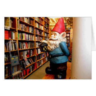 Library Gnome II Card