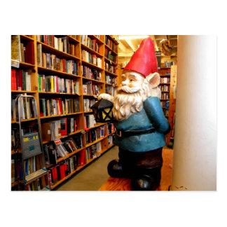 Library Gnome II Postcard