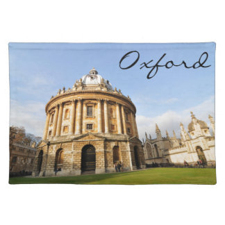 Library in Oxford, England Placemat