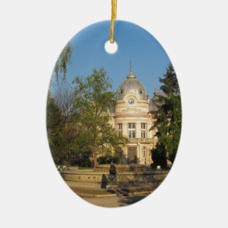 Library in Ruse, Bulgaria Christmas Ornament