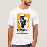 Library Is Knowledge 1940 WPA T-Shirt