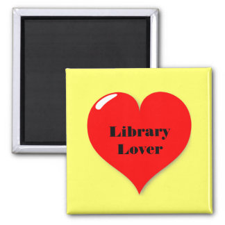 Library Lover on Magnet