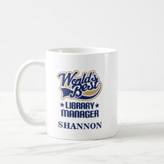 Library Manager Personalized Mug Gift