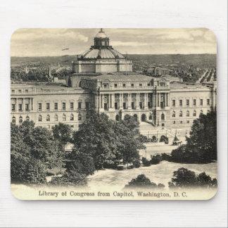 Library of Congress, Washington DC, 1912 Vintage Mouse Mat