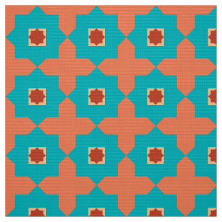 Library Room Moroccan Tiles