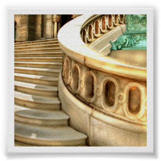 Library Steps Poster