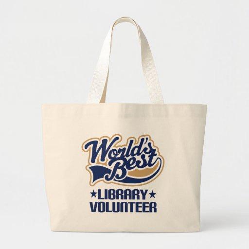 Library Volunteer Gift Tote Bags