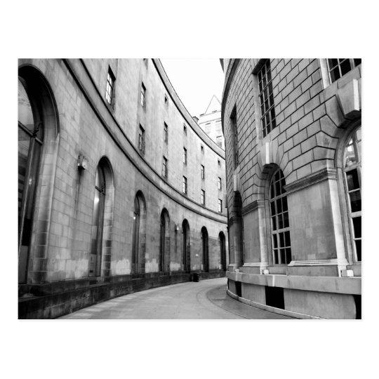 Library Walks Postcard