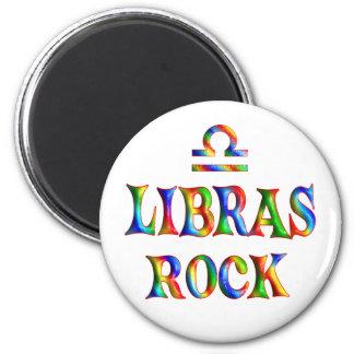 Libras Rock 6 Cm Round Magnet
