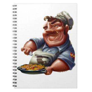 Libro de Recetas de Cocina Española con Paella M1 Libretas