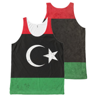 Libya All-Over Print Tank Top