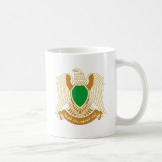 Libya coat of arms basic white mug