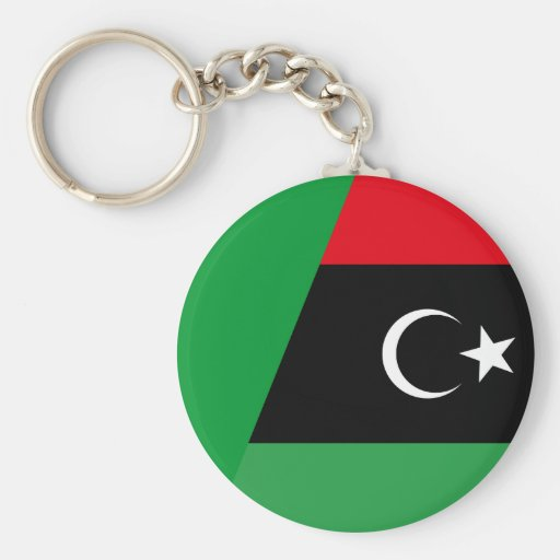 libya combined key chains